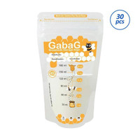 Gabag BreastMilk Storage Bags 180ml 25+5pc / Kantong ASI