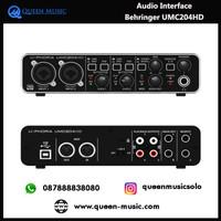 Audio Interface Behringer UMC204HD