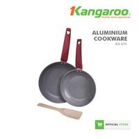 FRYING PAN ALUMINIUM SET/ PENGGORENGAN SET/ WAJAN KANGAROO KG673