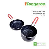 FRYING PAN ALUMINIUM SET/ PENGGORENGAN SET/ WAJAN KANGAROO KG671