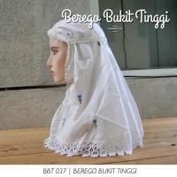 Jilbab Instant Jilbab Instan / Bergo Putih Harian Murah Hijab Instan