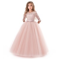Import gaun putri untuk anak-anak gadis bunga gaun pesta perni LD15