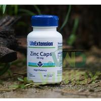 Life Extension Zinc 50 MG High Potency 90 Veg Kapsul