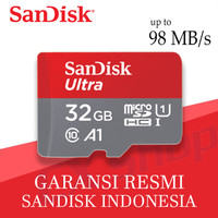 SanDisk Ultra MicroSD 32GB A1 98MB/s microSDHC UHS-I micro sd