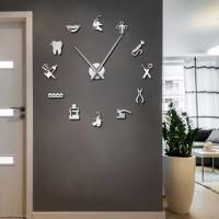 Jam Dinding Besar DIY Giant WallClock 120 DentalDoctor DIY212