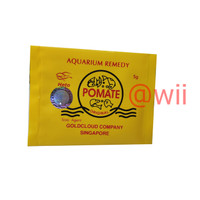 POMATE ASLI Obat Ikan Hias Koi Arwana Anti Jamur Ori Original