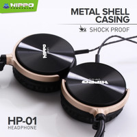 Hippo HP-01 Headphone Metal Shell Casing with SHOCK PROOF