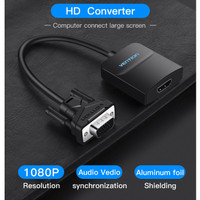 Vention ACN Adapter Converter VGA Male to HDMI Female