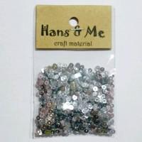 Payet Manik Flat 3mm Silver