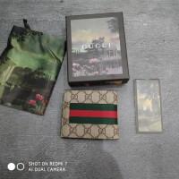 DOMPET KULIT/PRIA/PANJANG /PENDEK /KARTU GUCCI LOGO BEE