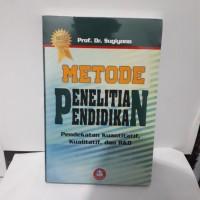 Metode Penelitian Pendidikan By Sugiyono