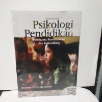 Psikologi Pendidikan jilid 1 By Jeanne Elis Omrod