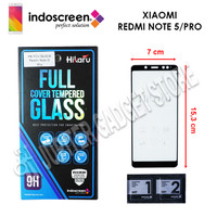 Xiaomi Redmi Note 5 Pro Hikaru Tempered Glass Full Cover - ORI