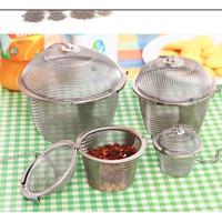 Alat Saringan Daun Teh Tahan Panas Cup Tea Maker Stainless LARGE-KS172