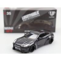MiniGT 1/64 LBWorks Nissan GT-R Magic Grey China Exclusive
