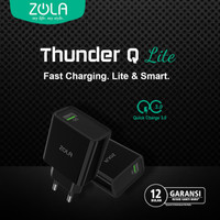 Zola International Thunder Q Usb Charger Quick Charge 3.0