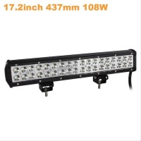 Lampu LED Lightbar Mobil Truck ATV SUV 4WD 17.2 Inch 108W - A8