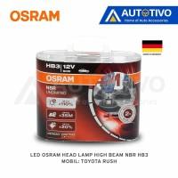 Toyota Rush LED Osram Head Lamp High Beam NBR HB3 Best deals