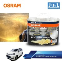 Toyota Avanza LED Osram Lampu Kabut Fog LampFog Breaker HB4 Best deals