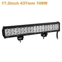 Ak Lampu Led Spot Lightbar Mobil Truck Atv Suv 4Wd 17.2 Inch 108W -