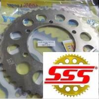 SSS Gear Belakang Ninja 250 R25 520 47T Best Seller Best deals