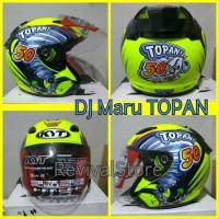 Helm DJ Maru Topan Replia Special Edition - Half Face Best Seller