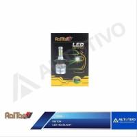 Lampu Mobil LED H4 Raiton Head Light Lampu Utama 6000K 50 Watt