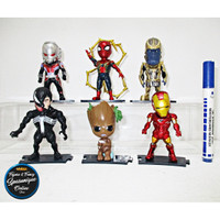 Action Figure Avengers Kidslogic Set isi 6