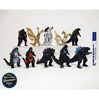 Action Figure Godzilla King Of The Monster isi 10