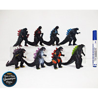 Action Figure Godzilla isi 8