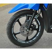 Stiker velg Suzuki Address Nex Lets Skydrive Spin - Langka Motor SGA