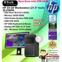HP Z4 G4 Workstation - 5LU30PA Xeon W-2123/16GB/6TB/VGA 2GB/W10PRO/3YR