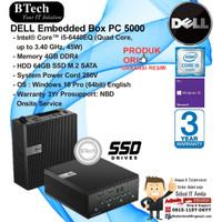DELL Embedded Box PC 5000 Core i5-6440EQ/8GB/64GB SSD SATA/W10PRO/3YR