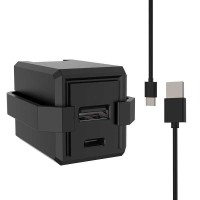 Travel Charger Smartphone USB Type C 2 Port 3.1A - RK-C001