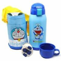 Botol Thermos Doraemon Hello Kitty Stainless Steel 600ML