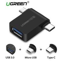 UGREEN OTG Plug Micro USB USB Type C for Smartphone - 30453