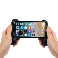 Smartphone Gamepad Hand Grip Holder with Stand & Joystick - JL01