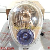 Reflektor Lampu Depan Scoopy Karbu Original Honda 33110-Kyt-941