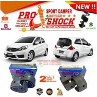 Sport damper Brio SEPAKET depan 3cm belakang 4cm Bergaransi 1 TH