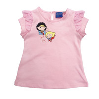 KIDS ICON - Justice League Girl Pink T-Shirt - JG1K0400180