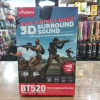 Handsfree PUBG Bluetooth Vivan BT520 Original Headset Sport