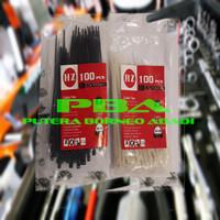 KABEL TIES Nylon Cable Tis .2.5 x 100/BLACK/WHITE