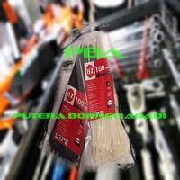 KABEL TIES –Nylon Cable Tis .2.5 x 150 Black/White