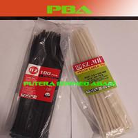 KABEL TIES –Nylon Cable Tis .3.6 x 250 Black/White
