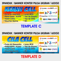Unduh 5300 Background Banner Jual Pulsa HD Paling Keren