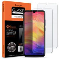 Tempered Glass 2pcs XiaoMi RedMi Note 7/Note 7 Pro SPIGEN Glas.tr Slim