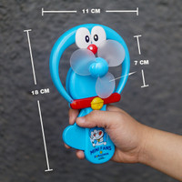 MAINAN MINIFAN KIPAS TANGAN MANUAL DORAEMON UKURAN LARGE