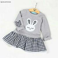 Dress Rawnie Kid/Dress Babyteri Kombi Kotak Katun/Dress Anak