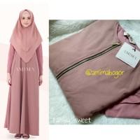 AMIMA NEW ZAHWA DRESS SWEET XL GAMIS ARABIAN CREPE POLOS