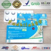 Obat Kolesterol - Atorvastatin. 10 Mg HJ Per Strip ORIGINAL